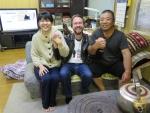 Fischer Fujijima mit Tochter und Thomas
