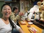 Tokuko Uneme, sie schenkte Thomas den Hut und machte die Blogübersetzungen auf Japanisch