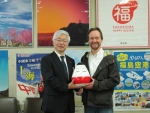 Thomas Köhler und Kaoru Ookawara (Fukushima Prefectural Government, Director General for Tourism)