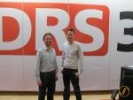 Thomas Köhler und Mario Torriani vom Radio SRF 3